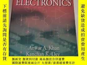 二手書博民逛書店A罕見First Course In Electronics電子課程的第一門課程(沒勾畫)Y6318 Khan