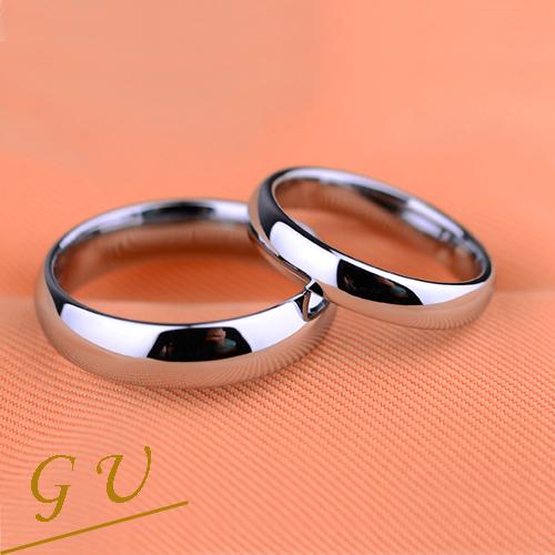【GU】W23 男戒女戒情侶對戒鋼戒鎢鋼戒指 GresUnic Agloce 白烏玄戒指 客製訂作內周長6.9公分,版寬5mm