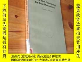 二手書博民逛書店DATA罕見BASE ORGANIZATION FOR DATA