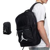 Air Jordan 黑色 後背包 雙肩包 休閒 運動 旅行 筆電包 大學包 9A0207-023