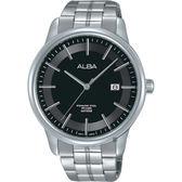ALBA雅柏 日系時尚手錶-黑/42mm VJ42-X226D(AS9D89X1)