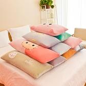 可愛公仔毛絨玩具抱枕長條枕抱枕靠墊卡通雙人枕頭【雲木雜貨】