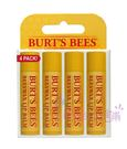 Burt s Bees 蜜蜂爺爺-Beewax 蜂蠟護唇膏 4件經濟裝 17g 2017原裝平行輸入【彤彤小舖】