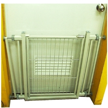 【培菓寵物48H出貨】王品可伸縮樓梯柵欄 C1(樓梯間 房間門口 門欄 安全門 76~90cm)