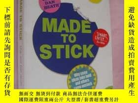 二手書博民逛書店Made罕見to Stick: Why Some Ideas T