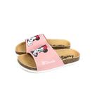 Disney Minnie Mouse 迪士尼 米妮 拖鞋 勃肯鞋 中童 粉紅色 D120146C no017