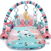 健力架 新生嬰兒腳踏鋼琴健身架器寶寶益智玩具0-1歲3-6-12個月男女孩童T