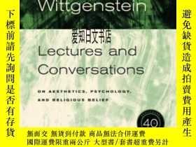 二手書博民逛書店【罕見】Ludwig Wittgenstein: Lecture