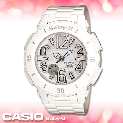 CASIO卡西歐 手錶專賣店 Baby-G BGA-170-7B1 DR 女錶 耀眼海洋風多層次 霓虹照明 防水100米 橡膠錶帶