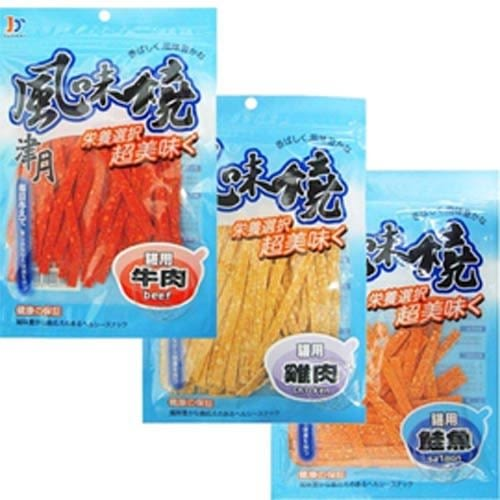 【zoo寵物商城】津月《風味燒》 犬貓用零食肉條-40g*1包