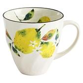 【日本製】果之音系列 美濃燒馬克杯 檸檬圖案(一組:3個) SD-6555 - 日本製 美濃燒