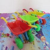 尾牙年貨節1-8歲工程車大號沙灘獨輪手推車翻斗小推車兒童玩具玩雪玩沙工具第七公社