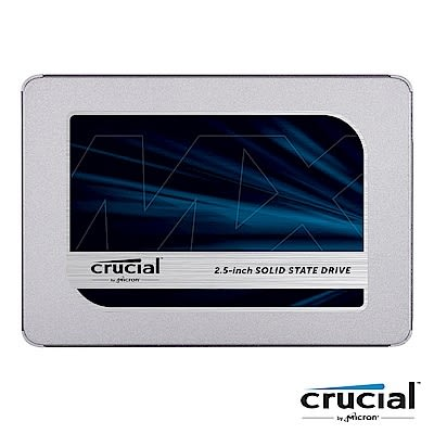 Micron 美光 Crucial MX500 250GB SATAⅢ SSD 固態硬碟 五年保固