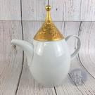BRAND楓月 Rosenthal 羅森泰 魔笛系列短嘴大茶壺 K24 浮雕 瓷器 居家 茶具 擺設 擺飾 擺件 裝飾品