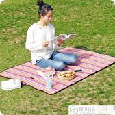 野餐垫戶外便攜野餐墊防潮墊可折疊野餐布春游墊子牛津布防水野炊地墊 居優佳品DF