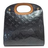 路易威登 LOUIS VUITTON LV 紫色漆皮壓紋手提包 Maple Drive M91377 【BRAND OFF】