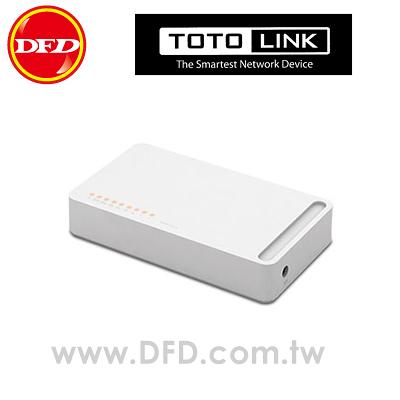 TOTOLINK S808 8埠家用乙太網路交換器 公司貨