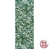【日本製】【和布華】 日本製 注染拭手巾 綠色 和風松竹梅圖案 SD-4973 - 和布華