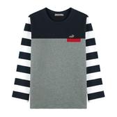 『小鱷魚童裝』拼接T恤(10號~18號)534404