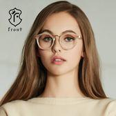 【Front 光學眼鏡】V3510-三色可挑選(#復古圓框款光學眼鏡)