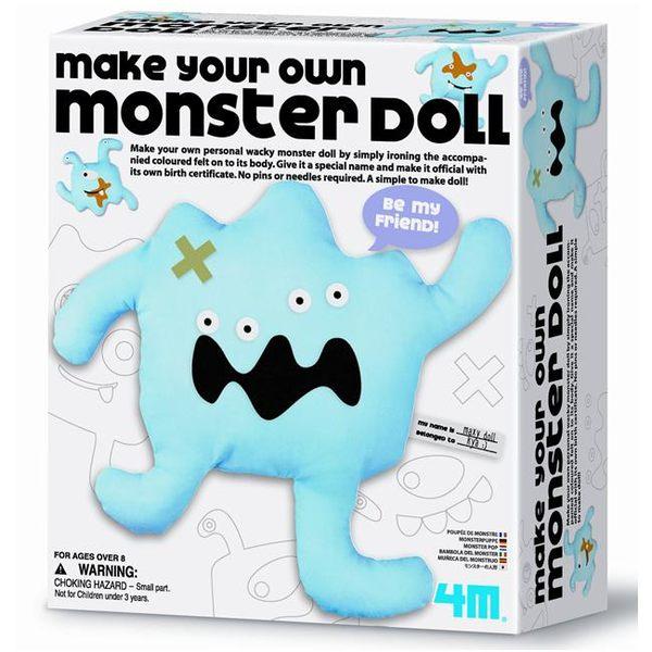 《4M美勞創作》Make Your Own Monster Doll布偶怪獸      ╭★ JOYBUS玩具百貨