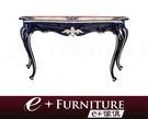 『 e+傢俱 』EF1 艾賓里查 Ebenezer 新古典 古典雅致 木紋桌面 鏤空雕花 玄關台 | 玄關櫃 可訂製