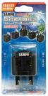(現貨)聲寶旅行萬用轉接頭-黑 EP-UF1C(B) 全球通用型
