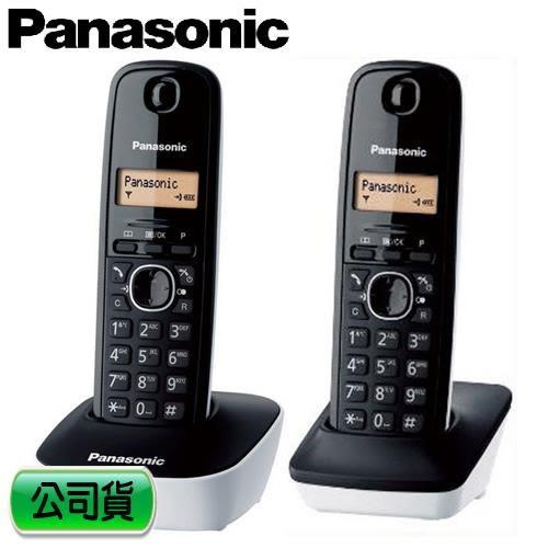 Panasonic 國際牌 數位雙手機無線電話 KX-TG1612 白