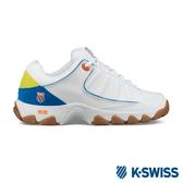K-SWISS ST529 LE 時尚運動鞋/老爹鞋-男-白/藍/橘