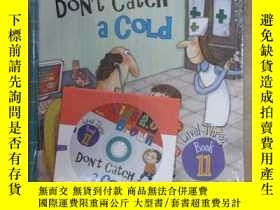 二手書博民逛書店布朗兒童英語罕見DON T CATCH A COlD(level Three book 11) 附練習冊,附光盤