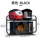 微波爐置物架 可伸縮廚房置物架烤箱微波爐架子收納家用雙層台面桌面電飯鍋櫥櫃T