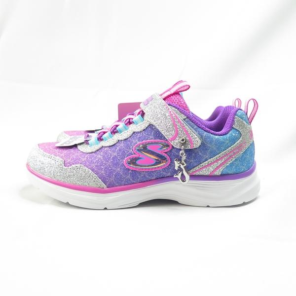 Skechers GLIMMER KICKS-SEA SPARKLE中童運動鞋 81444LSMLT 粉【iSport】
