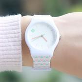 手錶學院風少女心防水果凍手錶女學生小森女繫清新百搭韓版簡約糖果色 韓國時尚週