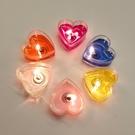 浪漫求婚生日蠟燭桃心型蠟燭燈七夕情人節婚慶表白裝飾創意道具 樂活生活館