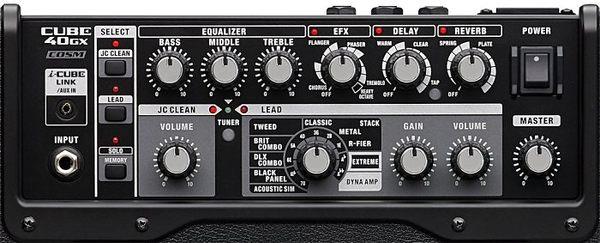 【金聲樂器廣場】全新 Roland Cube 40GX 電吉他 音箱 (可連接iPad/iPhone)