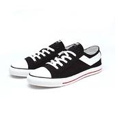 PONY男款基本款帆布鞋 黑色-NO.91M1SH02BK