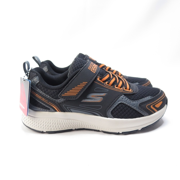 Skechers GO RUN CONSISTENT 中童鞋 405010LBKOR 黑橘【iSport愛運動】