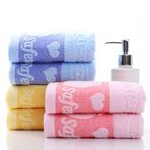 5條裝純棉毛巾成人洗臉 家用柔軟吸水厚好回禮品全棉面巾