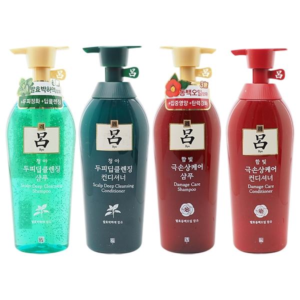 韓國Ryo呂 洗髮精/潤髮乳(500ml) 多款可選【小三美日】$239