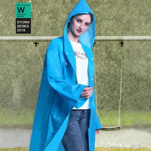 成人兒童學生男士戶外防護服長款加厚連體一次性雨衣帽外套全身 樂活生活館