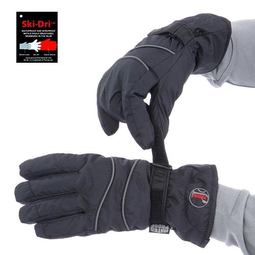 JORDON橋登 Ski-Dri 女防水刷毛保暖手套G020