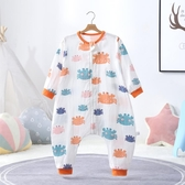 睡袋 嬰兒睡袋夏季薄款兒童防踢被神器全純棉紗布春秋薄款寶寶四季通用 夢藝