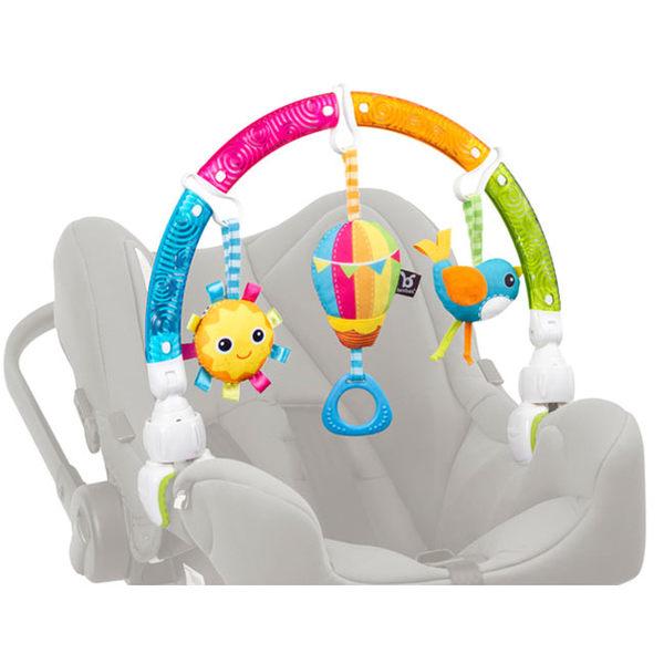 【奇買親子購物網】Benbat 叢林弓形吊飾玩具