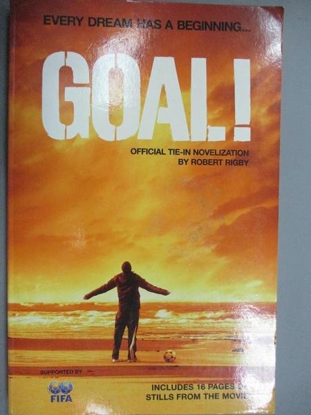【書寶二手書T5/原文小說_HEI】Goal!_Robert Rigby