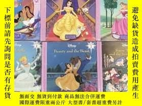 二手書博民逛書店Disnep:Cinderella、Beauty罕見and the Beast、 Snow White and t