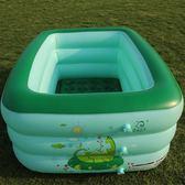 加厚充氣方形家用寶寶游泳池xx1635 【VIKI菈菈】