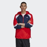ADIDAS ORIGINALS 外套 SPRT 紅白藍 拼接 風衣 連帽外套 男 (布魯克林) GJ6735