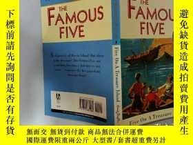 二手書博民逛書店Five罕見On A Treasure Island:寶島上有五個Y200392