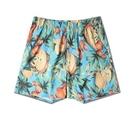 FINDSENSE H1夏季 歐美 新款  海邊花褲子 休閒 沙灘褲 五分褲短褲