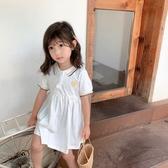 韓國女童夏季連衣裙2020新款韓版洋氣公主裙寶寶純棉短袖裙子1-3-6歲【居享優品】
